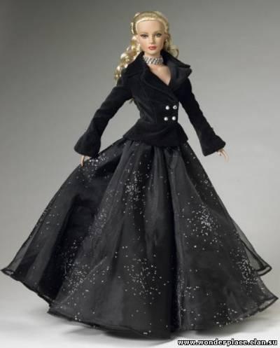 Барби в черном