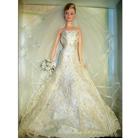 Барби в свадебном платье с шитьем - Куклы и мода ...